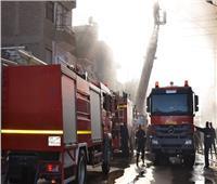 إصابة 28 شخصا في حريق بمصنع «زبادي» في الإسكندرية