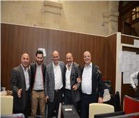 صور| «ميري» وسط المحررين البرلمانيين: الفترة المقبلة تحتاج لمجلس «صحفيين» قوي
