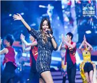 صور| مريم خليفة تُحيي حفلا غنائيا بأكبر مدن الصين