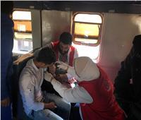 فرق الفحص بمبادرة 100 مليون صحة في قطار السنبلاوين غدًا