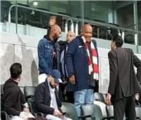 شيكابالا يؤازر الزمالك أمام جورماهيا في ملعب برج العرب