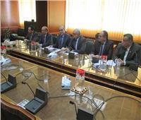 وزير الري يجتمع مع قيادات وزارة الزراعة لمناقشة تحديد مساحات الأرز