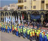 محافظ الإسكندرية يشهد فعاليات تنمية مهارات السلامة والصحة المهنية