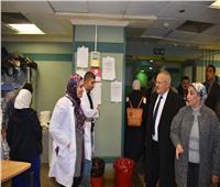 الخشت يفتتح وحدة حديثي الولادة بمستشفى أبو الريش الجامعي للأطفال