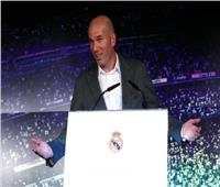 صور| أول تصريح من «زيدان» بعد عودته لتدريب ريال مدريد