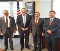 وزير البترول يناقش التعاون المشترك مع مساعد خارجية أمريكا للطاقة
