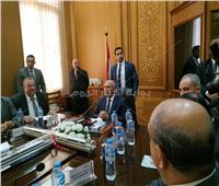 صور| كامل الوزير للعاملين بـ«السكة الحديد»: هنفطر في رمضان في الورش والمحطات