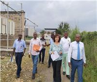 سفيرتنا ببوروندي تتفقد مشروعات التعاون في قطاع الكهرباء