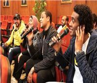 فيديو| 3 أغنيات لـ«منيب باند» في ندوة «بوابة أخبار اليوم»
