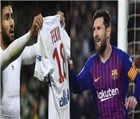 برشلونة يستضيف ليون في إياب ثمن نهائي دوري أبطال أوروبا