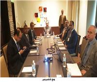 «الملا» يبحث زيادة الاستثمارات  شركة «شلمبرجير» للبترول في مصر