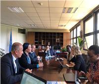 وزير البيئة يجتمع مع رئيس برنامج الأمم المتحدة للبيئة في نيروبي