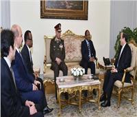 السيسي: نتطلع لتعزيز العلاقات مع تنزانيا في كافة المجالات