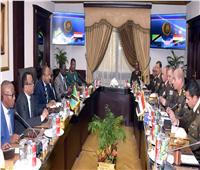 الفريق أول محمد زكي يلتقى وزير الدفاع والخدمة الوطنية التنزاني
