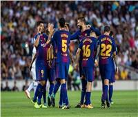 برشلونة يهاجم ليون بـ«ميسي وسواريز وكوتينيو»