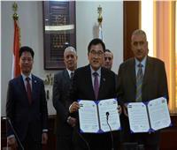 صور| اتفاقية تآخي بين مدينتي الأقصر وجيونج جو الكورية