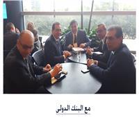 وزير البترول يبحث مع البنك الدولي دعم جهود تحويل مصر لمركز إقيليمى للطاقة