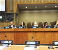 مايا مرسي تستعرض دور المرأة خلال دورة التقرير الطوعي بالأمم المتحدة