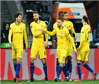 «هاتريك» جيرو يقود تشيلسي لدور الثمانية في الدوري الأوروبي