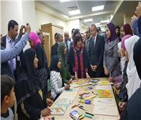 عبد الدايم والهجان يعلنان إعادة تشغيل قصر ثقافة قنا