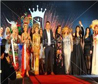 صور| ليلى علوي ورامي جمال في حفل ملكة جمال السياحة والبيئة