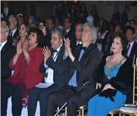 شاهد  لبلبة وإلهام شاهين ضمن نجوم حفل افتتاح مهرجان الأقصر