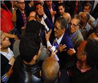 فيديو وصور| أنصار «ضياء رشوان» يحتفلون بحسمه لمقعد النقيب