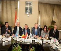 المجلس المصري الروماني يناقش نتائج الدورة الثامنة بحضور المستشار التجاري
