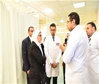 وزيرة الصحة: «أسوان التخصصي» جاهز لتنفيذ خطة تأمين ملتقى الشباب