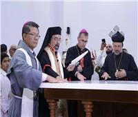 الأنبا إبراهيم إسحق يدشن كنيسة مارمرقس للأقباط الكاثوليك بسيدني