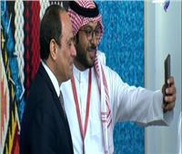 شاهد.. «سيلفي» الرئيس السيسى مع المشاركين بملتقى الشباب العربى الأفريقي