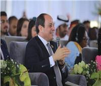 «السيسي» عبر «تويتر»: مصر هي نقطة التلاقي بين التاريخ والمستقبل