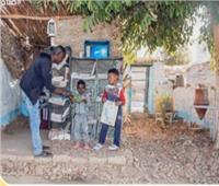 فيديو| حكاية أول مكتبة أطفال بجزيرة هيسا النوبية