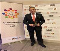 تكريم رئيس مجلس إدارة بنك مصر ضمن أفضل مائة رئيس تنفيذي عربي لعام 2018