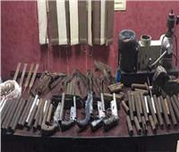 ضبط ورشتين لتصنيع الأسلحة النارية فى المنيا والجيزة