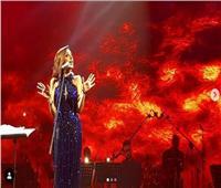 فيديو| «هتقول لربنا ايه» لـ«أنغام» لايف من حفل الإسكندرية
