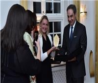 السفير المصري في ستوكهولم يكرم بعثة الآثار السويدية العاملة في مصر
