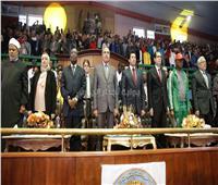 دقيقة حداد على شهداء نيوزيلندا بختام أولمبياد شباب الجامعات الإفريقية
