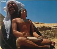 فيديو| شيحة : «صورة الغفير الذي يحمل تمثالا تعود لعام 2002»