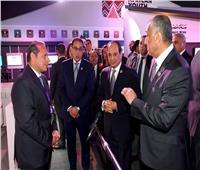 «السيسي» يزور جناح البنك الأهلي المصري بملتقى الشباب العربي الإفريقي