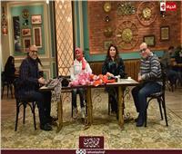 فيديو  إيمان السيد وحسن عبد الفتاح ضيفا «قهوة أشرف»