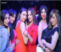 صور| إيمي إيهاب تحتفل بعيد ميلاد نيللي الجمال