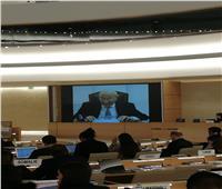 فايق يطالب المجلس الدولي لحقوق الإنسان بممارسة دورة تجاه القضية الفلسطينية
