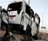 مصرع وإصابة 10 أشخاص في حادث مروع بمدينة السادات