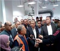 نائب رئيس جامعة المنيا يتفقد ورش تدريب كلية الهندسة