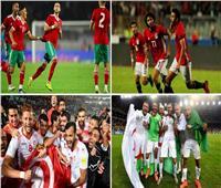 الطريق إلى مصر| مشاركة تاريخية للعرب.. 7 منتخبات يمكنها الظهور في أمم أفريقيا