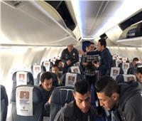 صور| المنتخب القومي يغادر إلى نيامي بطائرة خاصة من برج العرب