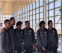 صور| بعثة المنتخب تغادر مطار برج العرب متوجهة إلى النيجر