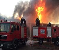 السيطرة على حريق أمام سينما رادوبيس في الهرم