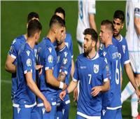 منتخب قبرص يكتسح سان مارينو بالخمسة في تصفيات «يورو 2020»